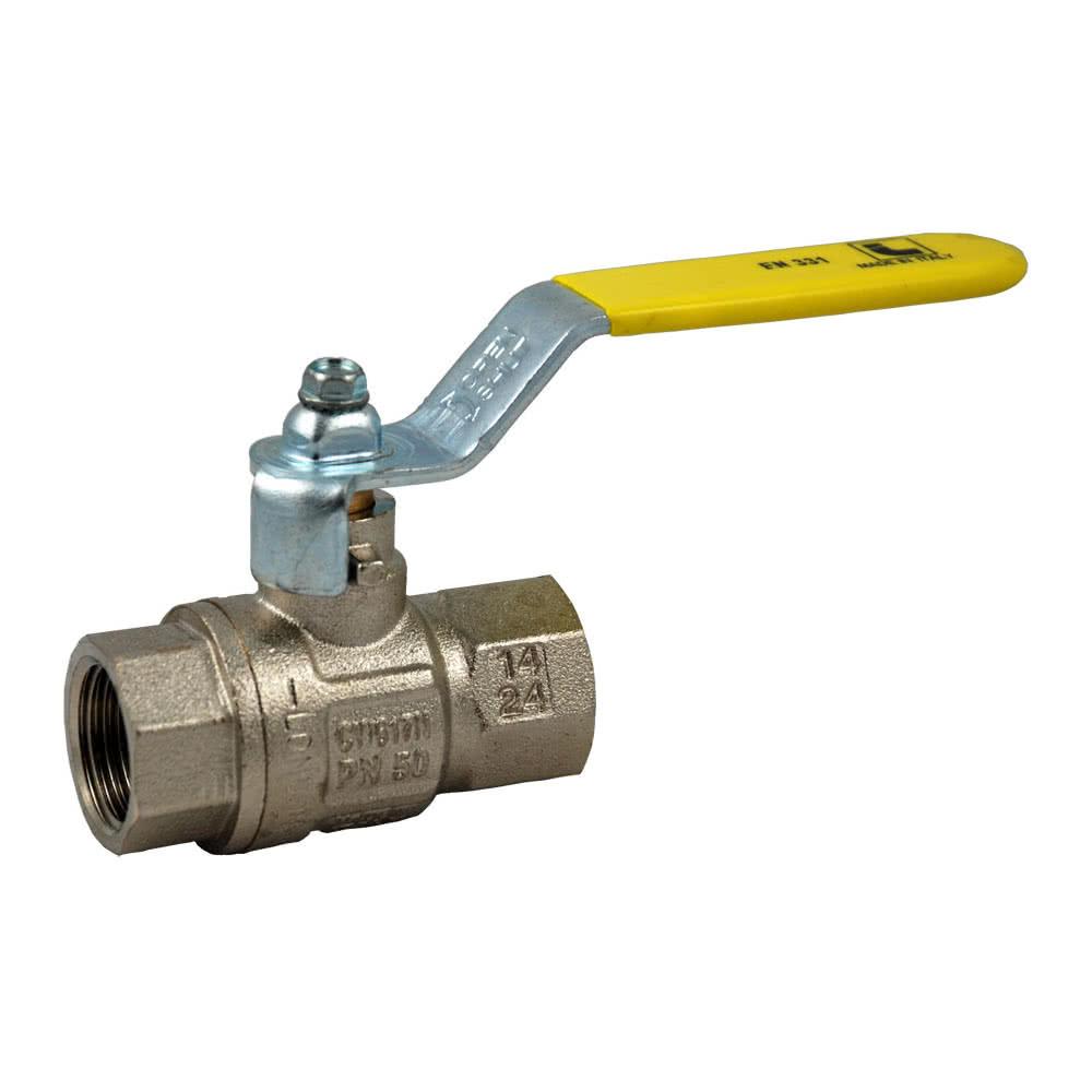 Vannes à boisseau sphérique pour gaz combustibles, certifiées DVGW et DIN EN 331